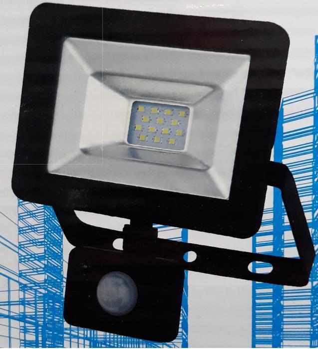 Proiector LED cu senzor - 10 W 0