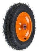 Roata roaba - TT - rulment - mixt - janta stea portocalie - 3.50-8 8PR [0]