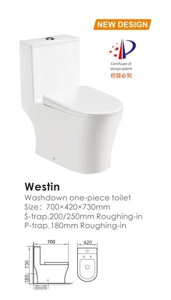 Vas de toaleta-Westin 1