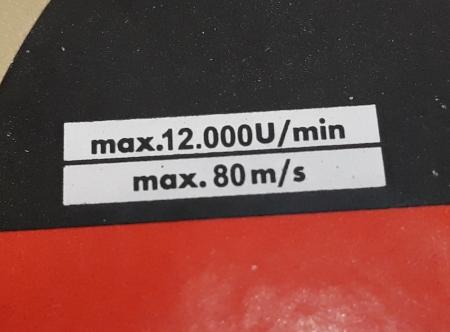Disc diamantat 125 mm S3