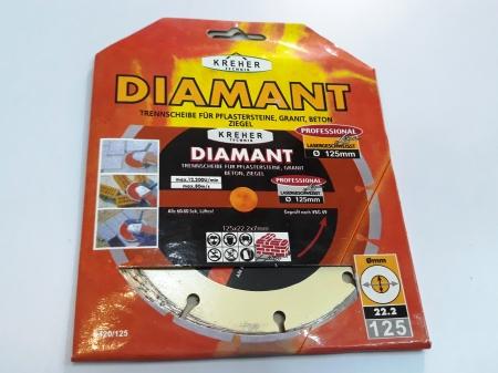 Disc diamantat 125 mm S1