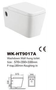 Vas de toaleta-WK-HT9017A1