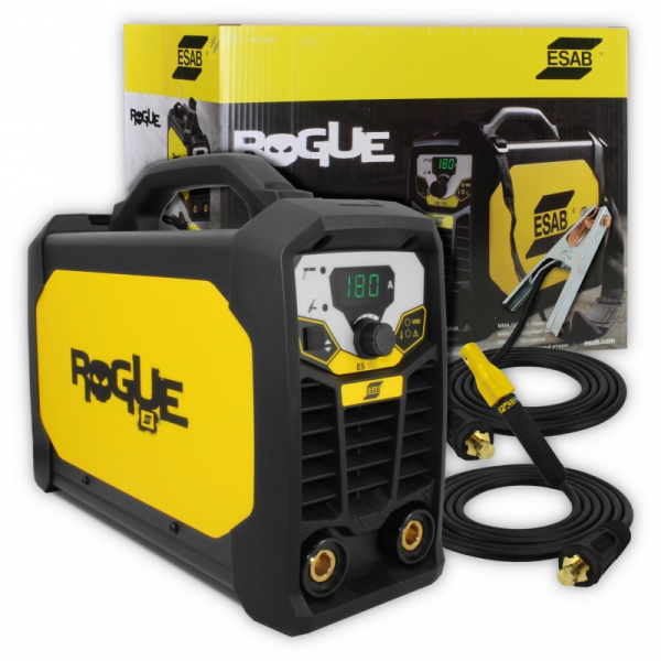 Aparat de sudura ESAB, Tip invertor ROGUE ES180I, 230V, 180A, electrod 1.6-4.0mm 2