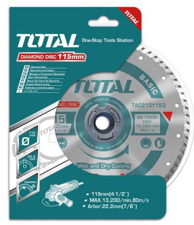 Disc Diamantat TOTAL, Turbo 0