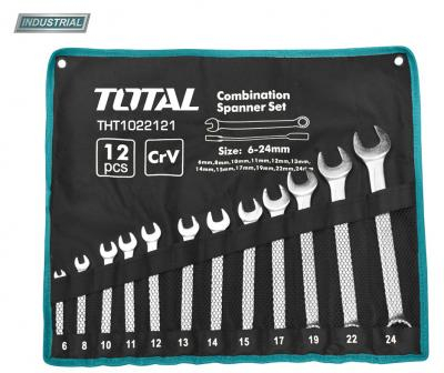 Set Chei Combinate TOTAL, CR-V, 6-24mm, 12buc, INDUSTRIAL 0