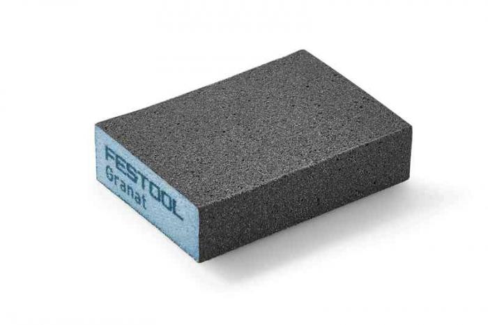 Festool Bloc de şlefuire 69x98x26 120 GR/6 Granat 1