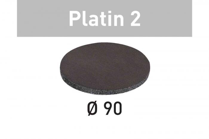 Festool Foaie abraziva STF D 90/0 S500 PL2/15 Platin 2 3