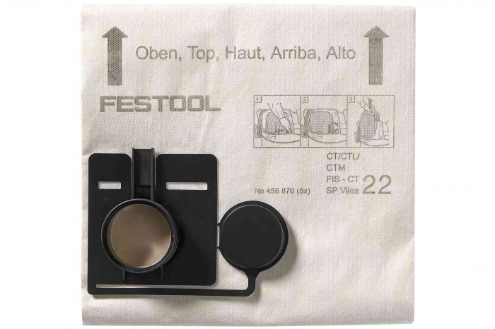 Festool Sac de filtrare FIS-CT 22 SP VLIES/5 1