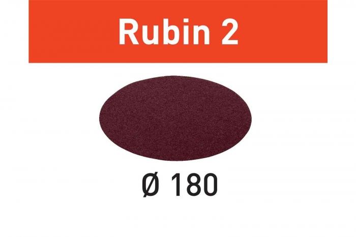 Festool Foaie abraziva STF D180/0 P60 RU2/50 Rubin 2 0