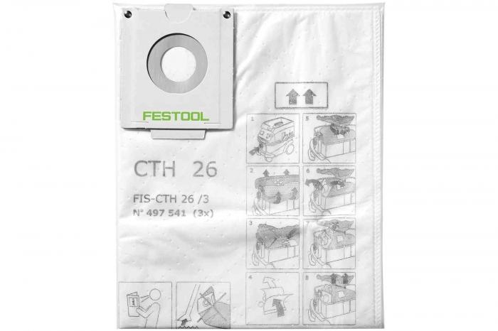 Festool Sac de filtrare de siguranta FIS-CTH 48/3 0