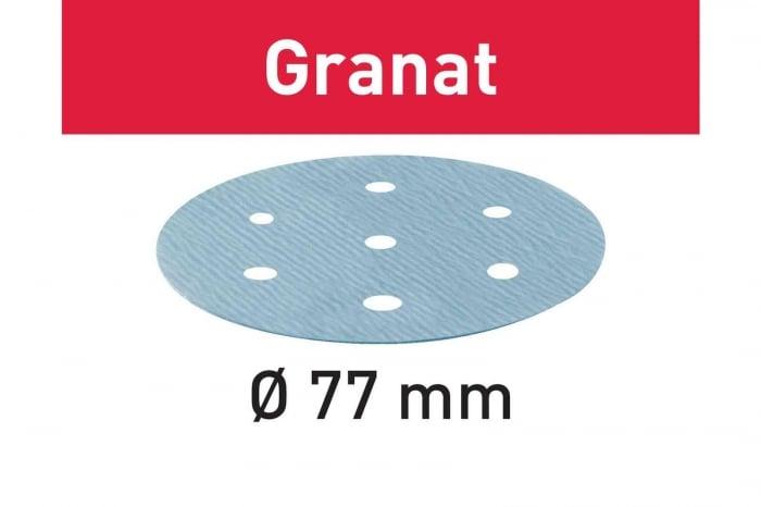 Festool Foaie abraziva STF D 77/6 P800 GR/50 Granat 2