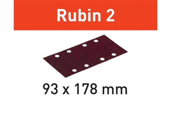 Festool Foaie abraziva STF 93X178/8 P220 RU2/50 Rubin 2 0