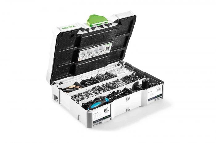 Festool Sortiment de conectori DOMINO KV-SYS D8 0