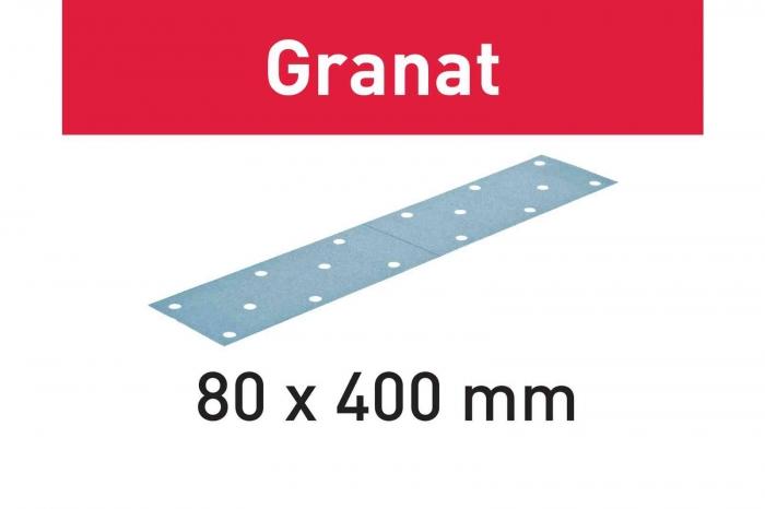 Festool Foaie abraziva STF 80x400 P180 GR/50 Granat [0]