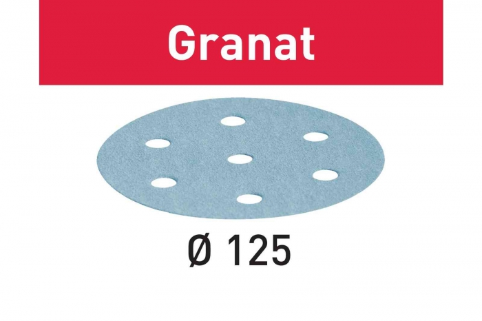 Festool Foaie abraziva STF D125/8 P400 GR/100 Granat 0