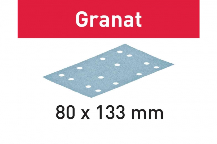 Festool Foaie abraziva STF 80x133 P320 GR/100 Granat 4
