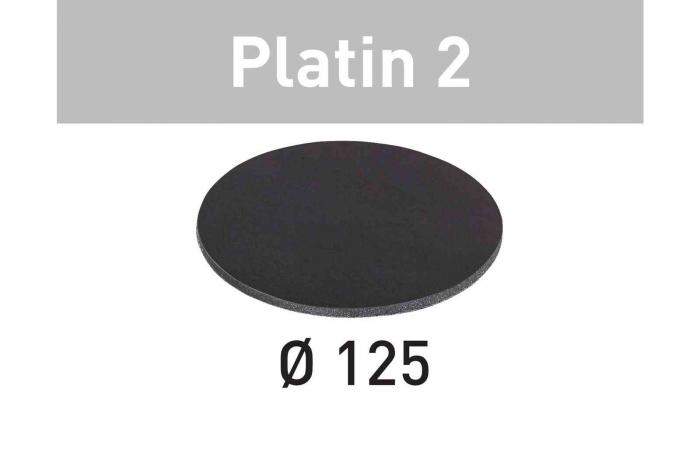 Festool Foaie abraziva STF D125/0 S4000 PL2/15 Platin 2 0