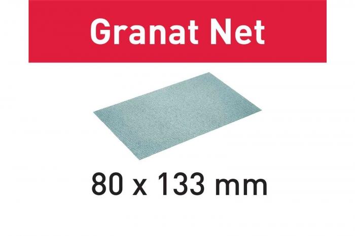 Festool Material abraziv reticular STF 80x133 P80 GR NET/50 Granat Net 0