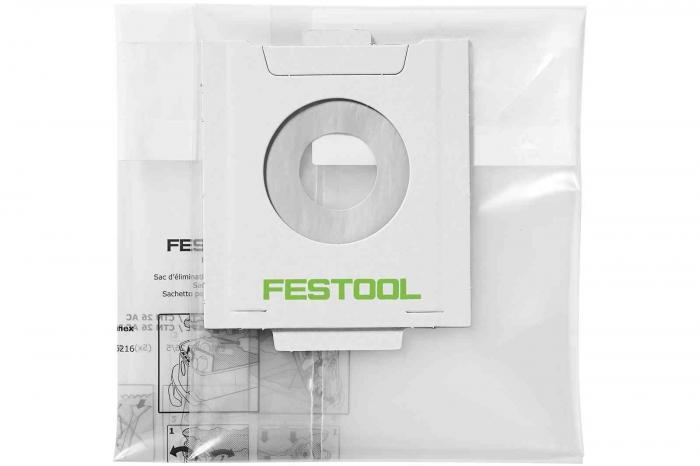 Festool Sac de reziduri, de unica folosinta ENS-CT 36 AC/5 [0]