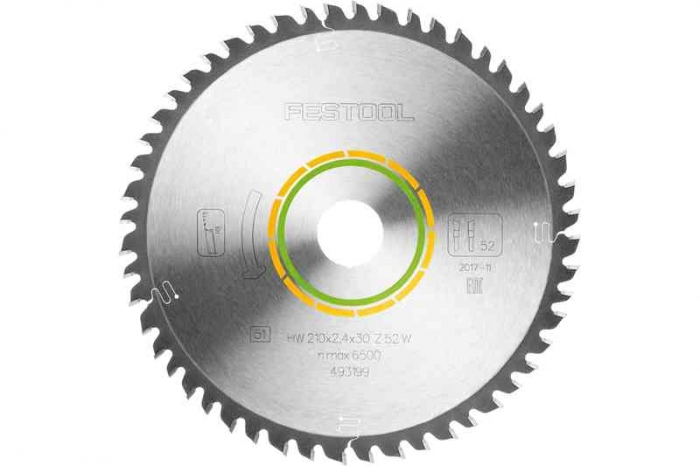 Festool Panza de ferastrau circular cu dinti fini 210x2,4x30 W52 1
