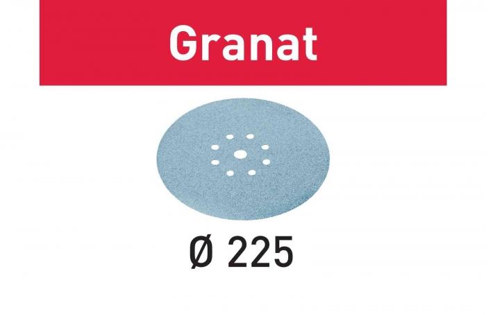Festool Foaie abraziva STF D225/8 P220 GR/25 Granat [1]