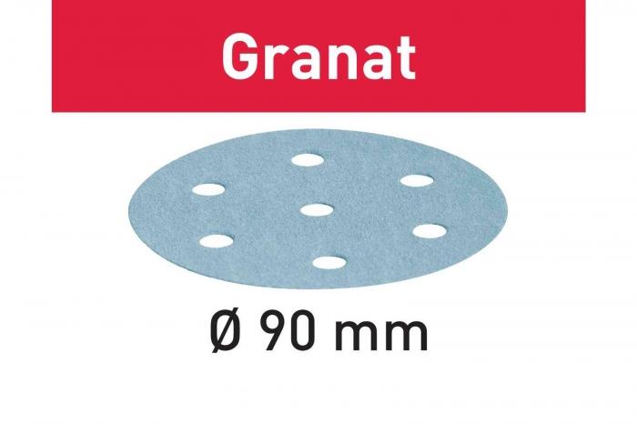 Festool Foaie abraziva STF D90/6 P240 GR/100 Granat 1