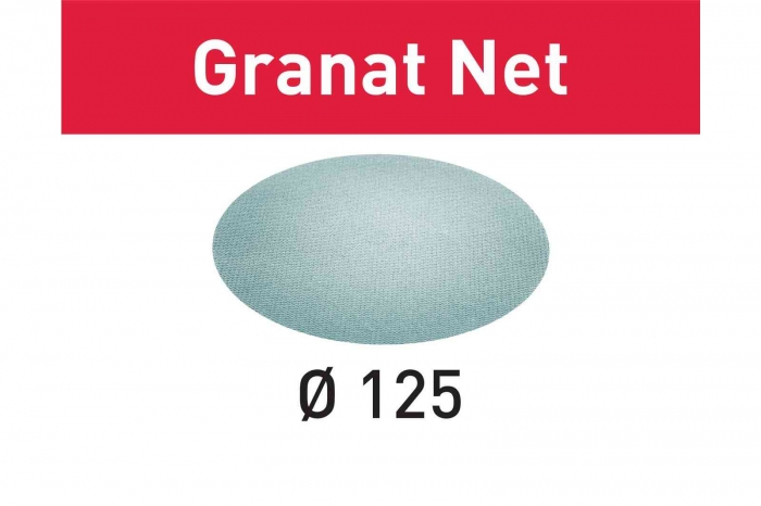 Festool Material abraziv reticular STF D125 P120 GR NET/50 Granat Net 0