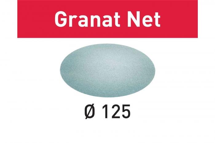 Festool Material abraziv reticular STF D125 P100 GR NET/50 Granat Net 0
