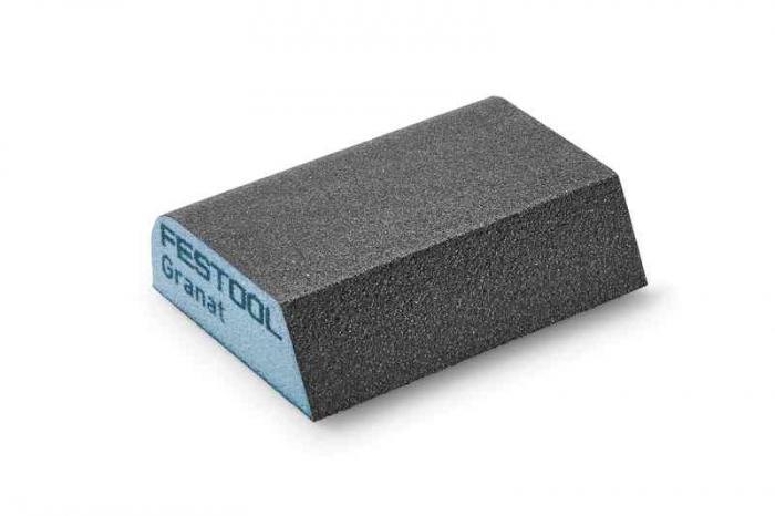 Festool Bloc de şlefuire 69x98x26 120 CO GR/6 Granat [1]