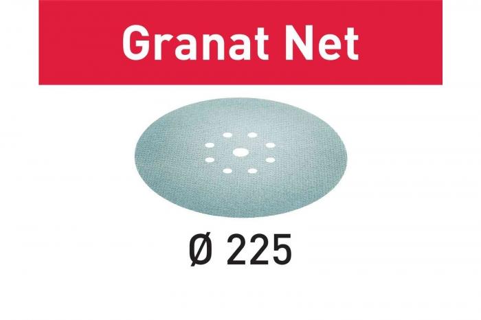 Festool Material abraziv reticular STF D225 P220 GR NET/25 Granat Net 1