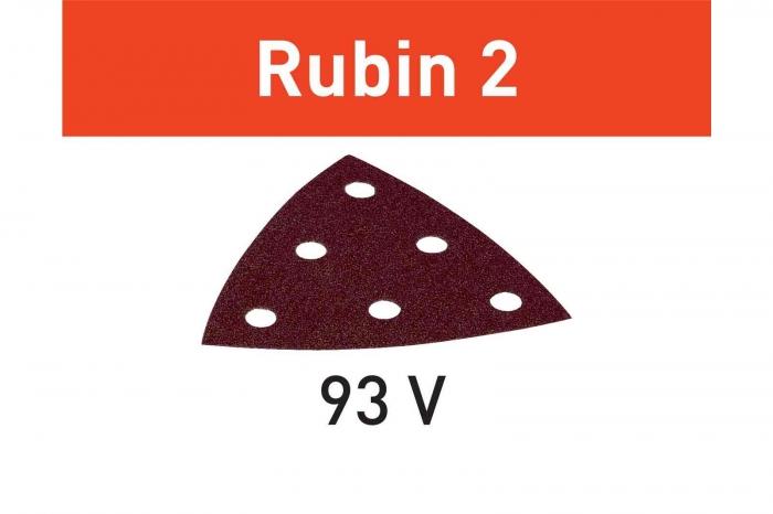 Festool disc de slefuire STF V93/6 P100 RU2/50 Rubin 2 0