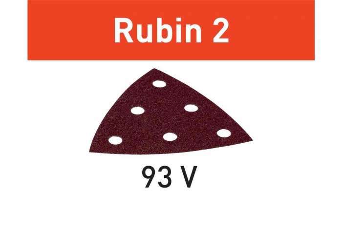 Festool disc de slefuire STF V93/6 P60 RU2/50 Rubin 2 4