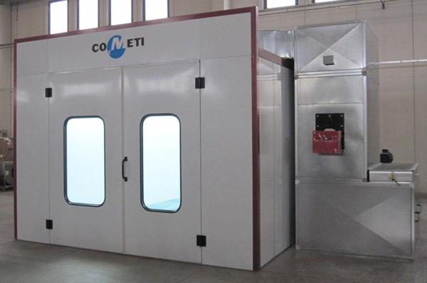 Cabina de vopsire COMETI model MARBLE 70.22.R ECO [2]