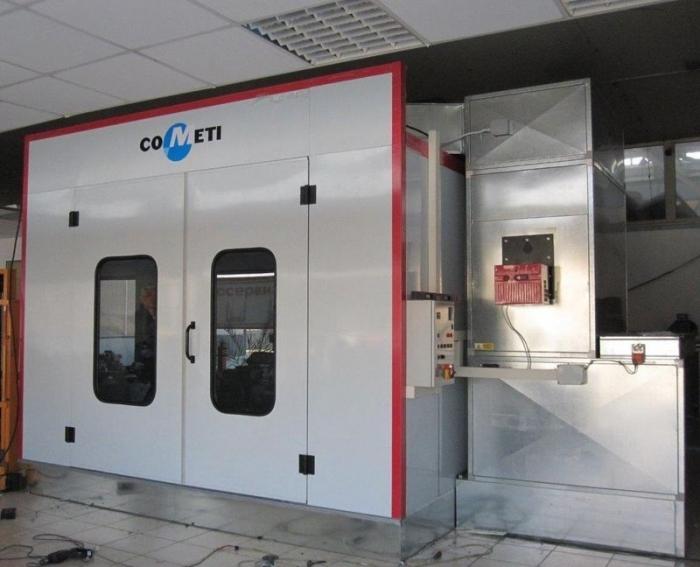Cabina de vopsire COMETI model MARBLE 70.22.R ECO [1]