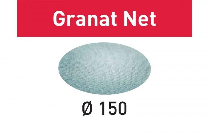 Festool Material abraziv reticular STF D150 P180 GR NET/50 Granat Net [0]