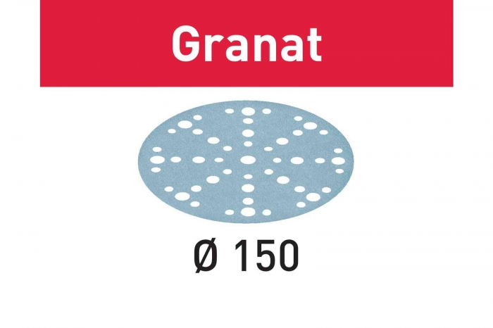 Festool Foaie abraziva STF D150/48 P150 GR/100 Granat 0
