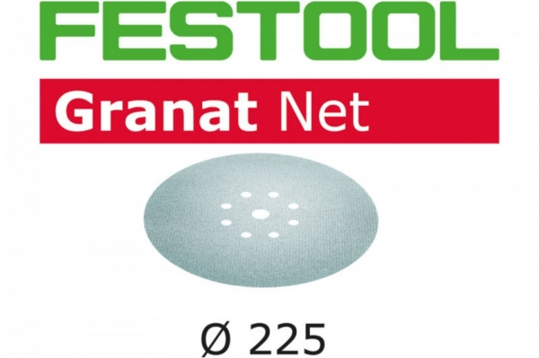 Festool Material abraziv reticular STF D225 P180 GR NET/25 Granat Net 0