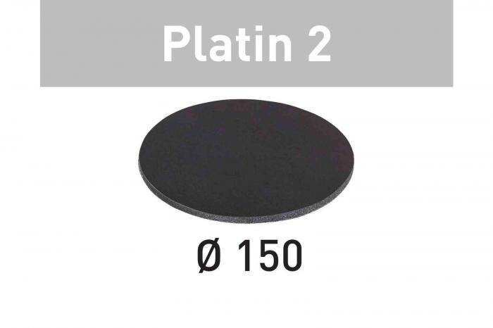 Festool Foaie abraziva STF D150/0 S500 PL2/15 Platin 2 1