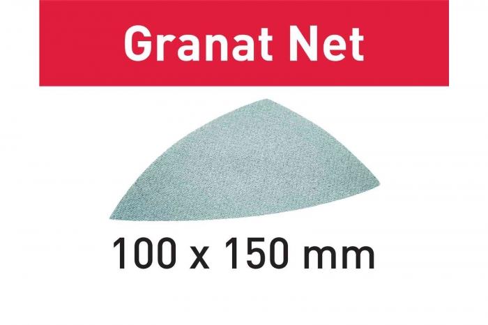 Festool Material abraziv reticular STF DELTA P100 GR NET/50 Granat Net 0