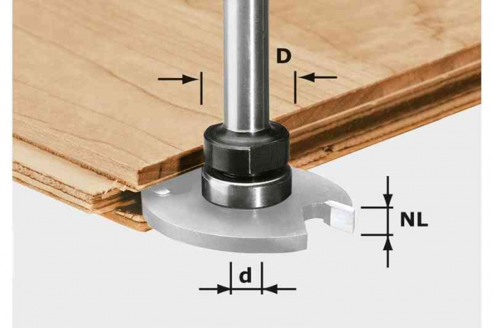 Festool Arbore port-cutit S8 1,5-5 KL16 0