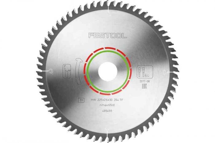 Festool Panza speciala de ferastrau 225x2,6x30 TF64 [1]