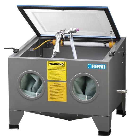 Cabina de sablat cu vacuum 0580 0