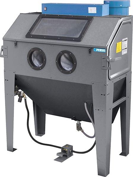 Cabina de sablat cu vacuum 0687 0