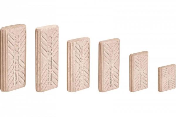 Festool Cepuri din lemn de fag DOMINO D 6x40/1140 BU [0]