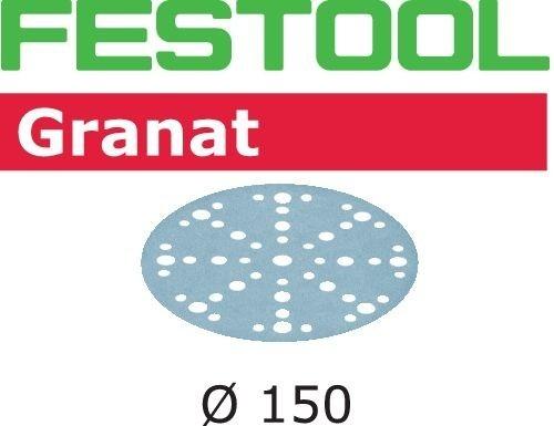 Festool Foaie abraziva STF D150/48 P40 GR/10 Granat 0