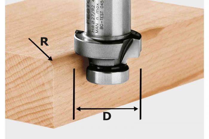 Festool Freza de rotunjit HW R2-OFK 500 [0]