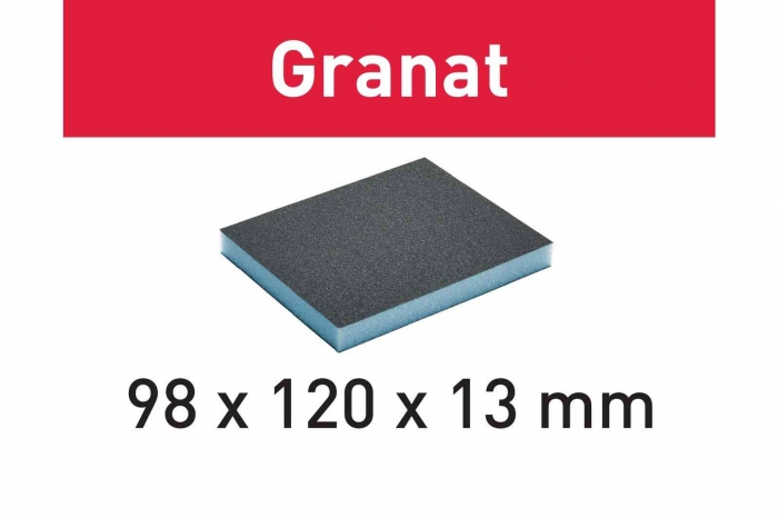 Festool Burete de şlefuit 98x120x13 60 GR/6 Granat 0