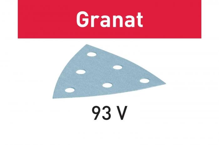 Festool disc de slefuire STF V93/6 P400 GR/100 Granat 1