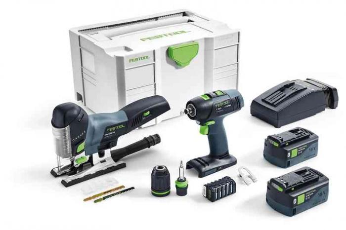 Festool Kit de montare a acumulatorului T 18+3/PSC 420 Li I-Set 1