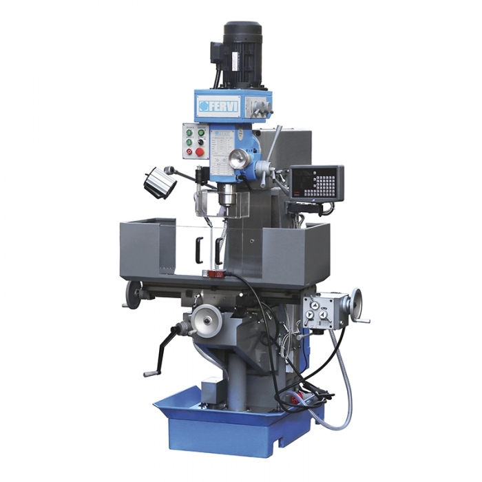 Masina de frezat metale verticala cu afisaj de cote 32-100 mm/50 mm F050I 0